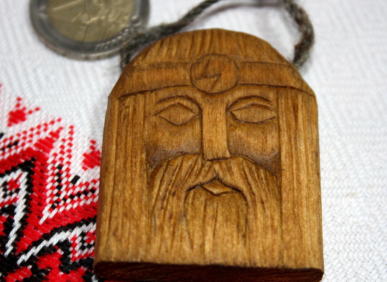 Амулет з дерева бога Перуна