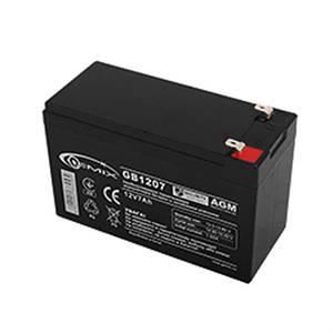 Аккумуляторная батарея Gemix 12V 7AH (GB1207), Black, AGM
