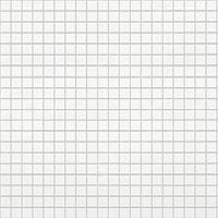 """Стінова Панель ПВХ декоративна пластикова, мозаїка """"Біла з сірим Швом"""" 95.4*47.8 см"""