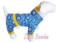 Дождевик комбинезон для собак (размер 6) последний размер.