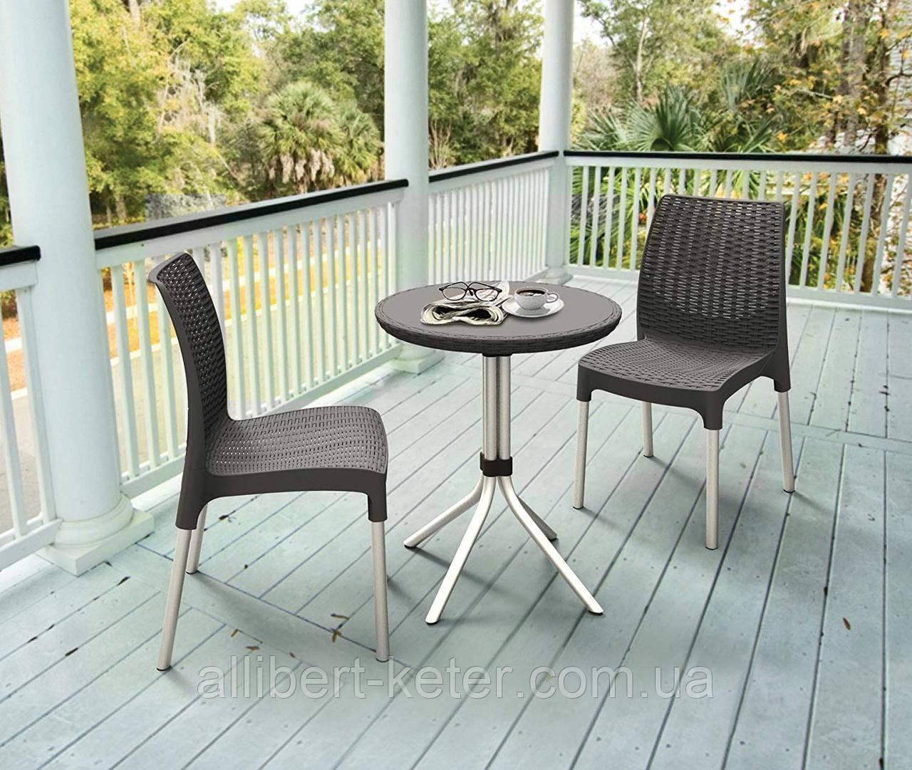 Набор садовой мебели Chelsea Set из искусственного ротанга