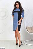 Стильное платье   (размеры 50-56) 0208-04, фото 5