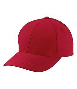 Персиковая кепка из 6-ти панелей U, MRED Красный