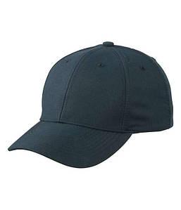 Персиковая кепка из 6-ти панелей Стальной-Серый