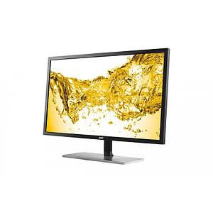 Монитор AOC 28 U2879VF Black, 3840x2160 (4K), 1 мс, 300 кд/м2, D-Sub, DVI, HDMI, DisplayPort