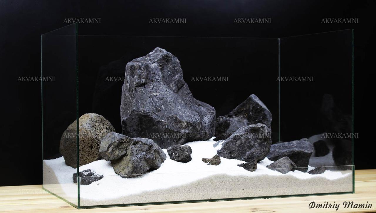 Композиция К193 из Черной лавы (16.5kg)