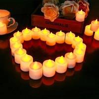 Светодиодные свечи 24 шт. (батарейки в комплекте)
