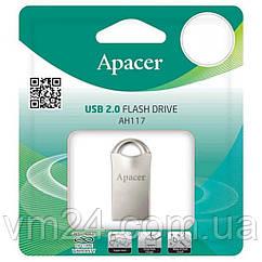 Флеш-драйв APACER AH117 16GB (AP16GAH117S-1) Silver