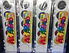 Краски акварель Люкс 6 цветов медовые (пластиковая упаковка) ящ72