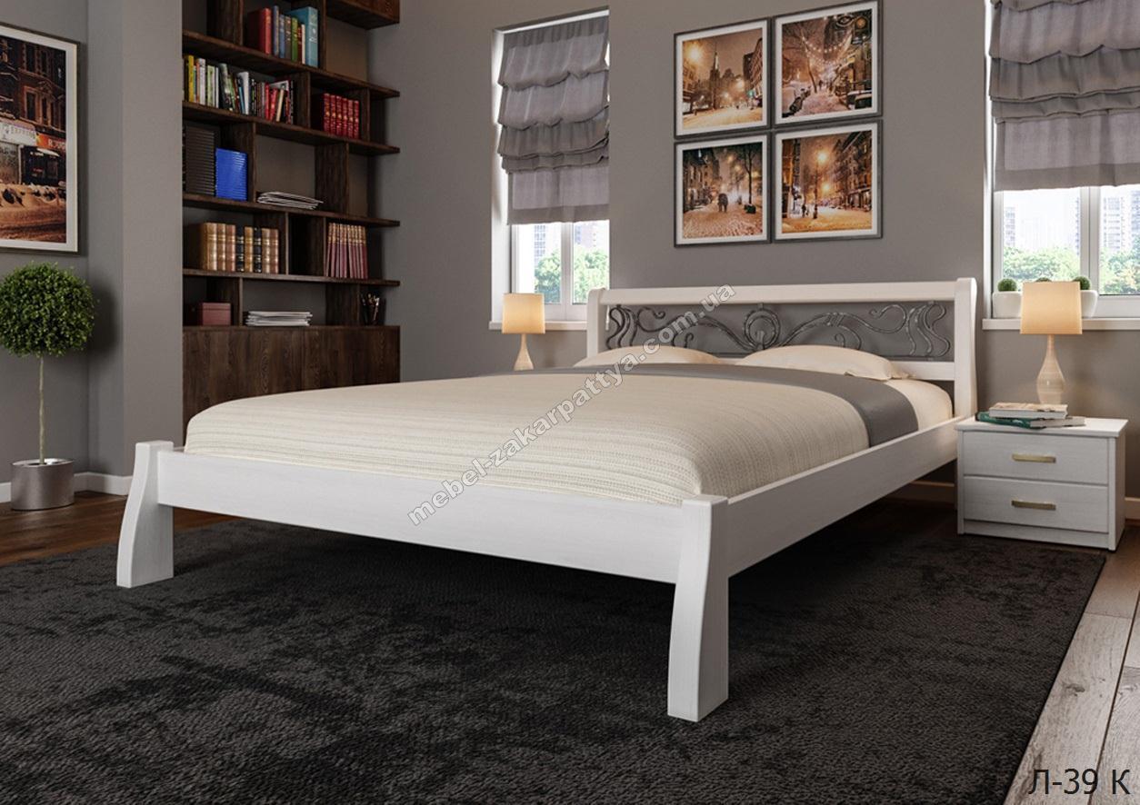 Кровать деревянная  Л-39 К