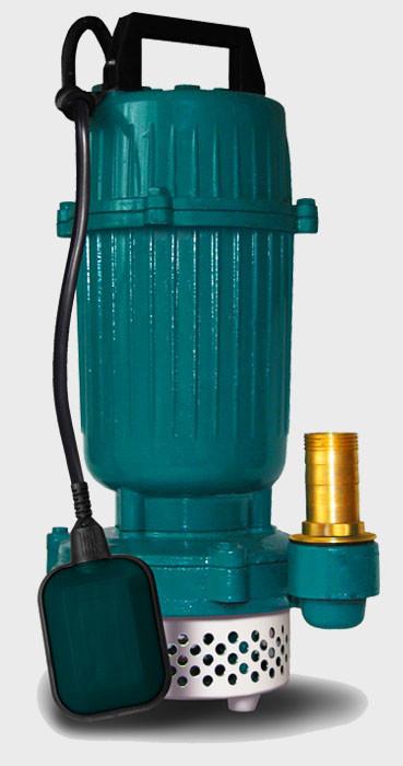 Дренажный, фекальный насос Euroaqua QDX 1,5-32-0.75 с датчиком уровня воды