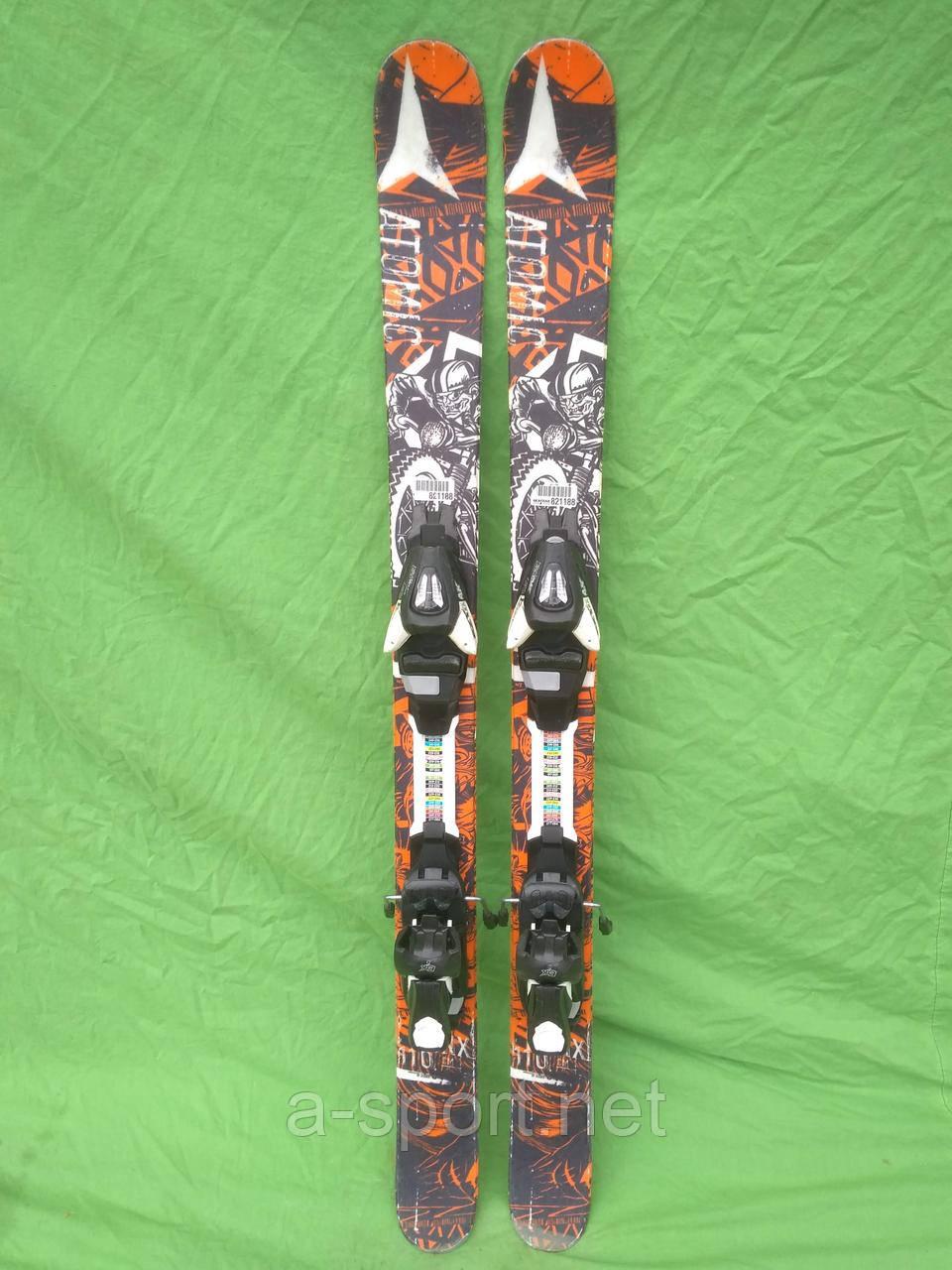 Atomic Punx Jr II 110 см гірські лижі для фрістайлу, твін-тіп 2015р