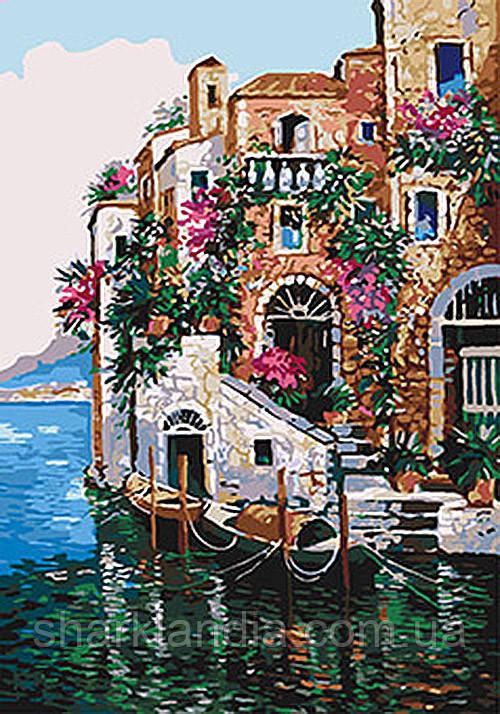 Картина по номерам Цвета Тосканы 35*50см KHO2736