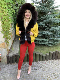 Парки, джинсовые парки, куртки с натуральным мехом