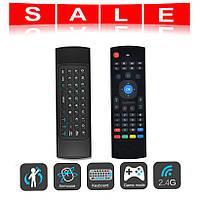 Беспроводная клавиатура, мини пульт (аэро-мышь) для Smart TV, AIR MOUSE MX3, фото 1