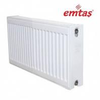 Стальной радиатор отопления с боковым подключением 22 тип Emtas 500х500, 500х1000, 500х2000