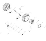 Задняя шина Can-Am BRP REAR TIRE, фото 2