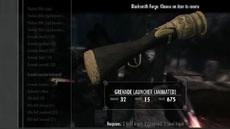 В игре The Elder Scrolls V: Skyrim появился гранатомет