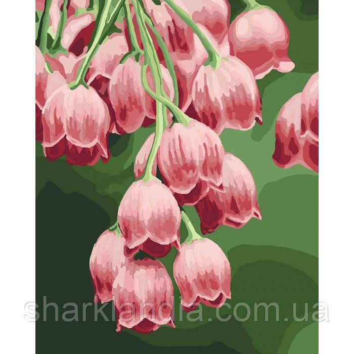 Картина по номерам. Замечательные колокольчики 40*50см KHO3040 Цветы Букет