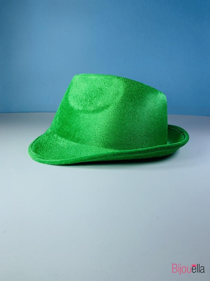 Карнавальная шляпа Федора яркая для карнавала маскарада вечеринки