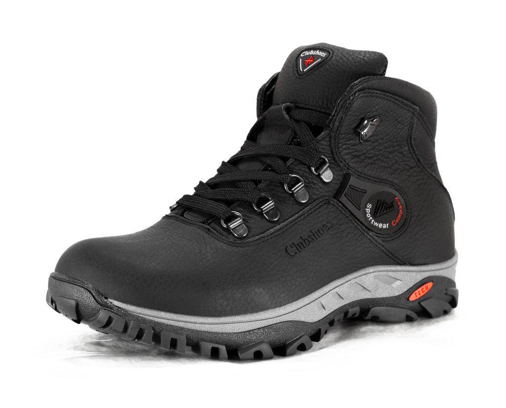 Кожанные мужские зимние ботинки  Columbia коламбия модель К3 размеры 40, 41, 42