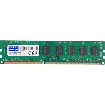 Оперативная память 8 Гб/Gb DDR3 1333 MHz, Goodram, 9-9-9-24, 1.5V (GR1333D364L9/8G), фото 2