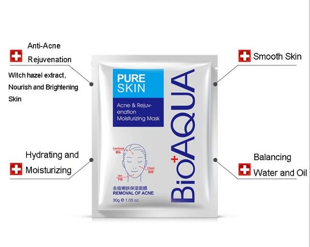 BIOAQUA Pure Skin Acne & Rejuvenation Moisturizing Mask