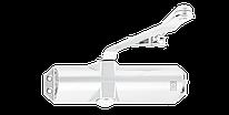 Доводчик для дверей ECO-Schulte TS-10D белый RAL9016, EN2/3/4, без тяги