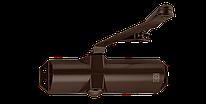 Доводчик для дверей ECO-Schulte TS-10D коричневый RAL8014, EN2/3/4, без тяги