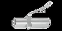 Доводчик для дверей ECO-Schulte TS-10D серебристый RAL9006, EN2/3/4, без тяги