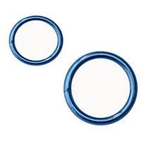Кольцо сварное оцинкованное 6х40