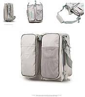 Оригинальная многофункциональная сумка переноска для новорожденных Brights Two. Детская люлька переноска.