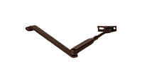 Стандартная тяга для доводчика ECO-Schulte коричневая RAL9014