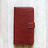 Кожаный чехол-книжка с магнитной застежкой для Sony Xperia XA1 Plus (G3412, G3416)