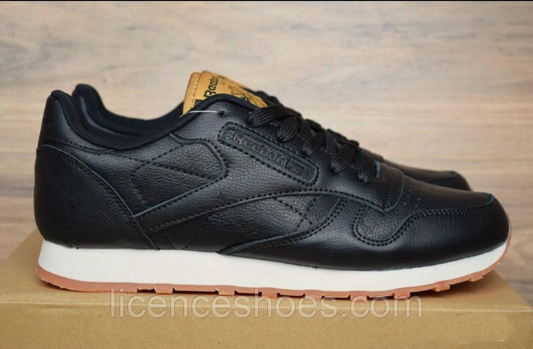 Мужские зимние кроссовки Reebok Classic Black. ТОЛЬКО 45 - стелька 29см