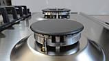 Газова варильна поверхня Sistema 6741W P06-K03 FFD (600 мм) нержавіюча сталь, фото 7