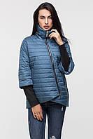 Стильна жіноча куртка на осінь 2019 від українського виробника KATTALEYA. лазурний, 52