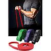 Петли для подтягиваний, Набор из 4-х (от 7 до 56 кг) резиновые петли для спорта U-Powex латекс 100%, фото 6