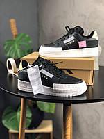 Мужские Кроссовки Nike Air Force 1 Low Type Black