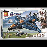 """Конструктор Bela 11261 (Аналог Lego Super Heroes 76126) """"Модернизированный квинджет Мстителей"""" 872 детали, фото 1"""