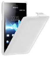 Чехол для Sony Xperia Miro ST23i  - Melkco Jacka Leather Case (SEXPMOLCJT1WELC)