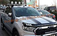 Шноркель на пикап Ford Ranger 2016+ Воздуховод для Форд Рейнджер 2016-2019 Воздухозаборник на пикап
