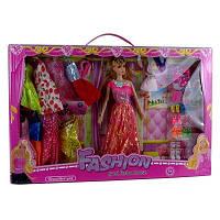 Набор куклы Fashion гардероб c платьями обувью и аксессуарами 2336 00-535