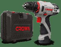 Шуруповерт аккумуляторный CROWN CT21072HX-2 BMC