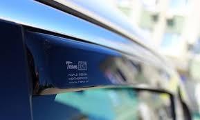 """Дефлекторы окон Peugeot 807 2002-2014 / Citroen C8 2002-2014 Передние """"HEKO"""" 12228"""