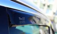"""Дефлекторы окон Renault Megane 2002-2009 хатчбек Передки """"HEKO"""" 27145"""