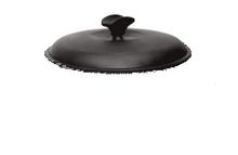 Кришка чавунна, емальована. Діаметр 200мм.