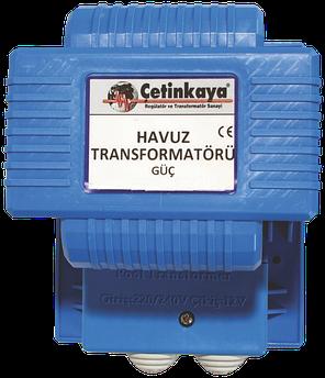Трансформатор IP67 220|12V 50 Вт для  бассейна фонтана герметичный  понижающий для светильника/лампочек , медь
