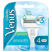 Лезвия Gillette Venus Smooth Sensitive упаковка 4 шт