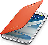 Чехол оригинальный для Samsung Galaxy Note 2 N7100 - Samsung EFC-1J9FOEGSTD​ orange